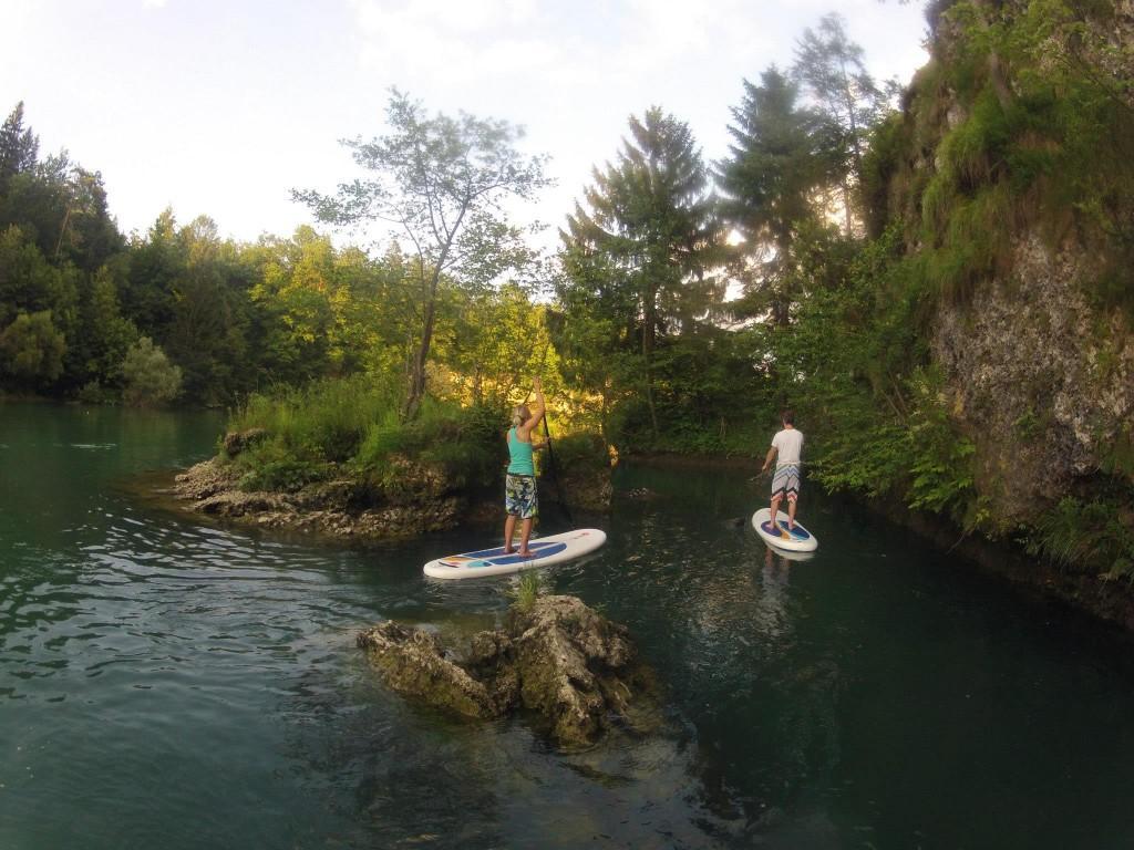 Supanje na Zbiljskem jezeru