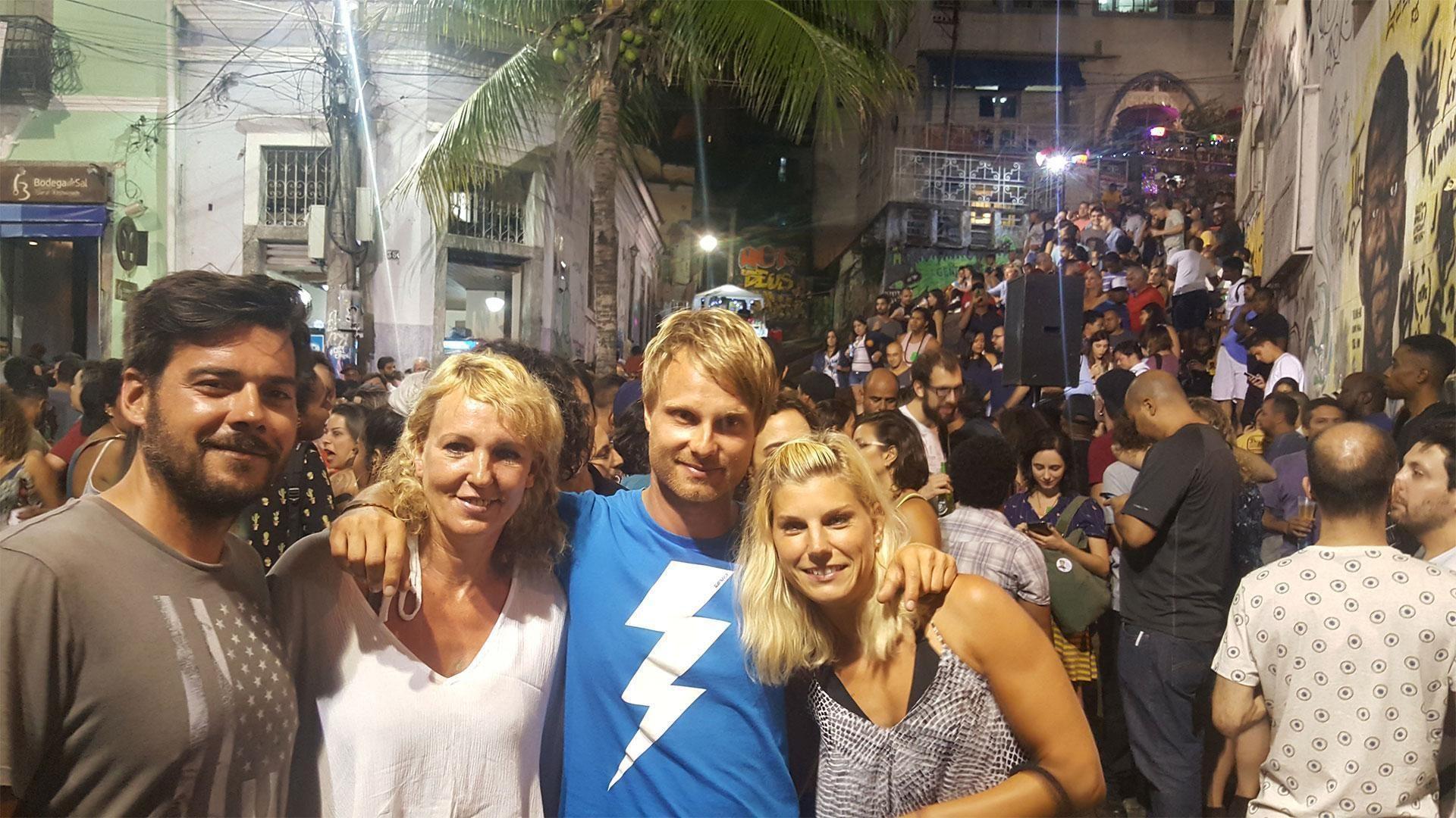 Kajtanje in žur v Riu de Janeiru
