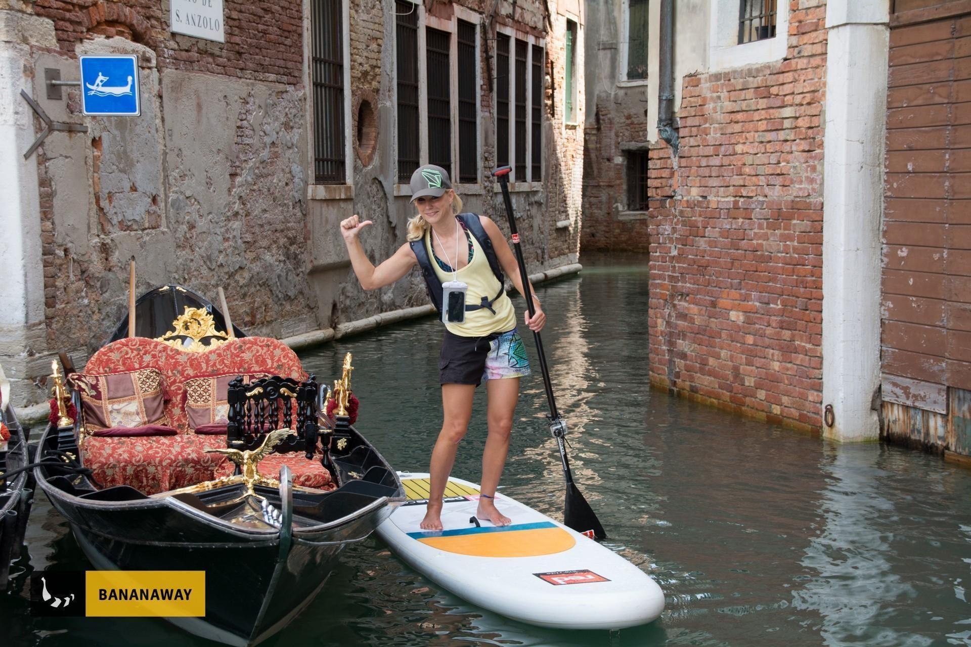 Paddle boarding Venice