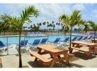 Martinique - bazen v bližini naših hišk