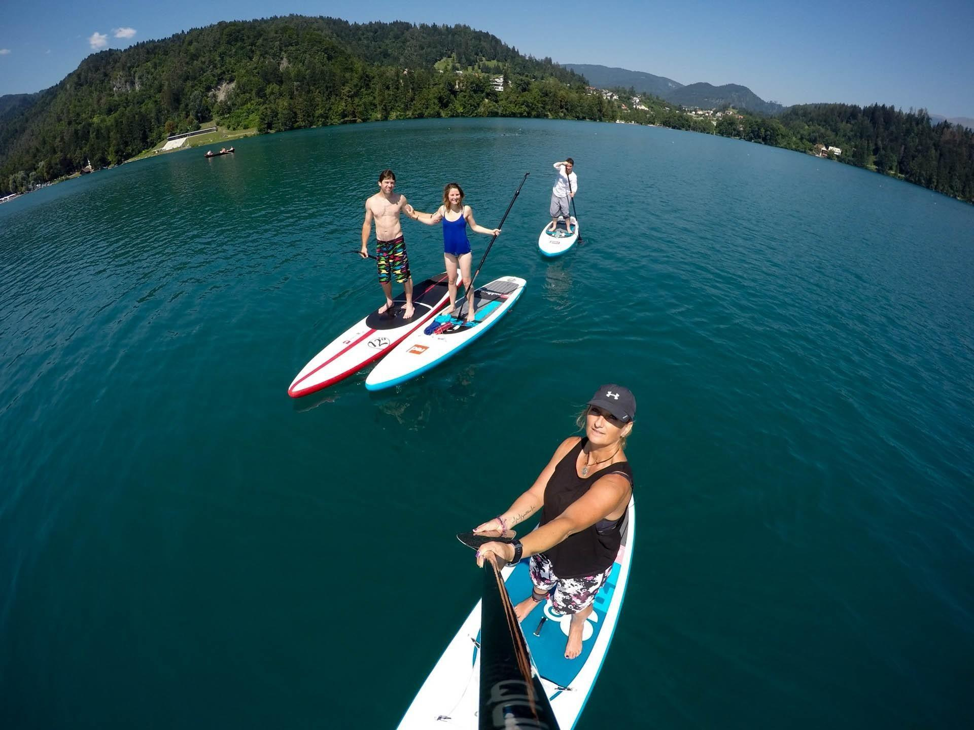Active SUP Tour | Paddle boarding lake Bled | Slovenia