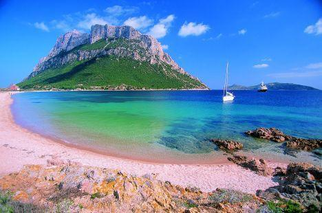 IIssola Roso plaža Sardinija
