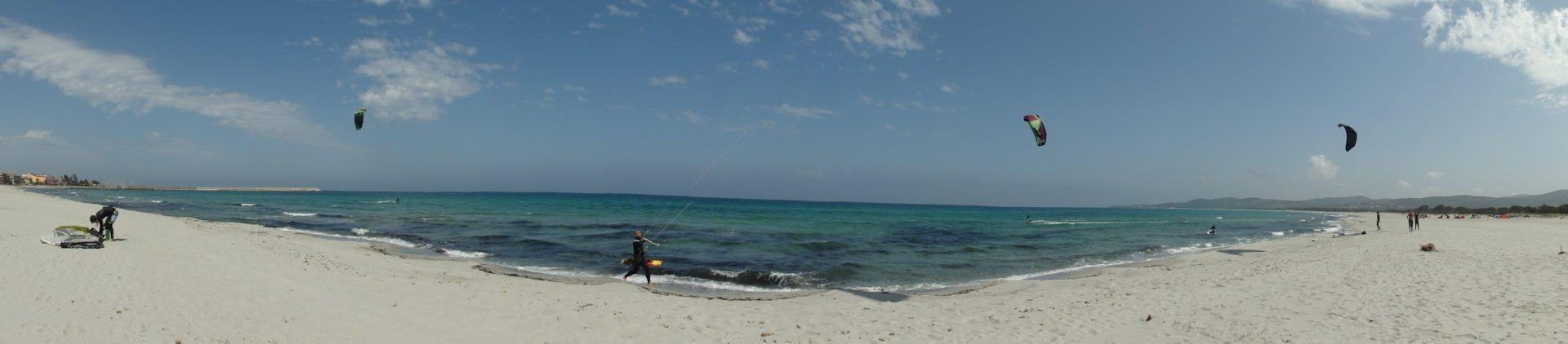 Kajtanje kitesurfing Sardinija