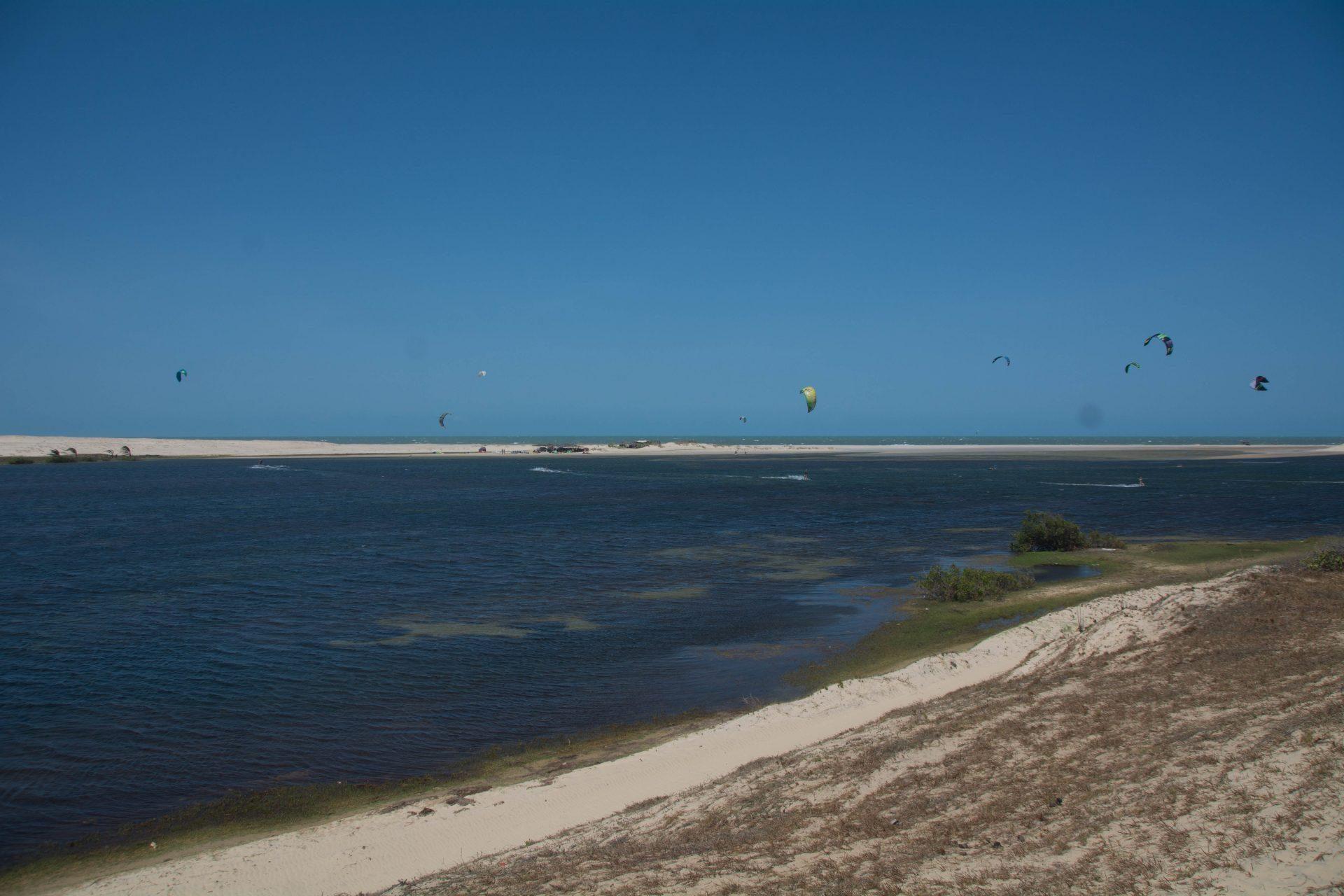 Kitesurfing Lagoinha, Brazil