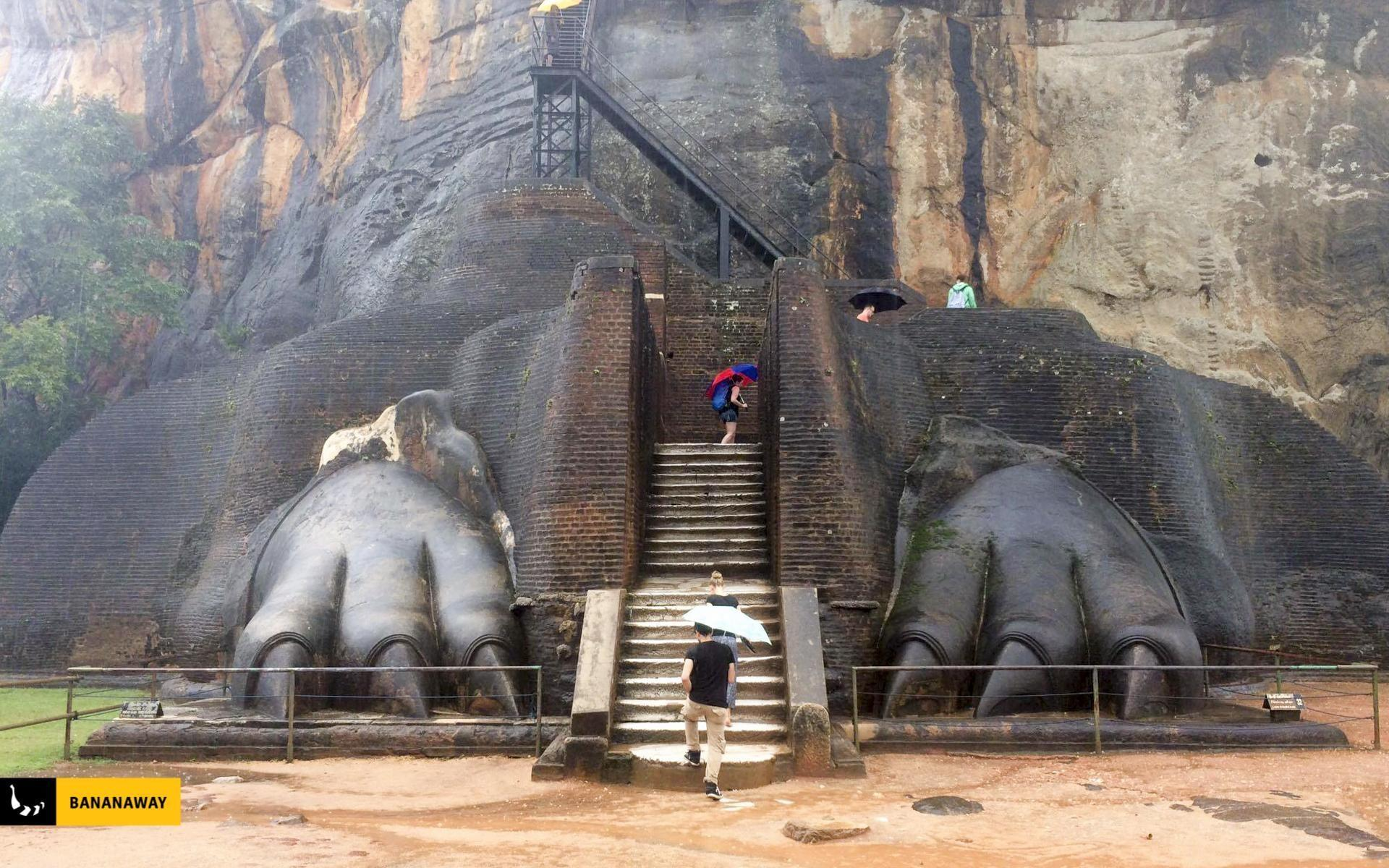 Sygiria Šrilanka - dnevni izlet