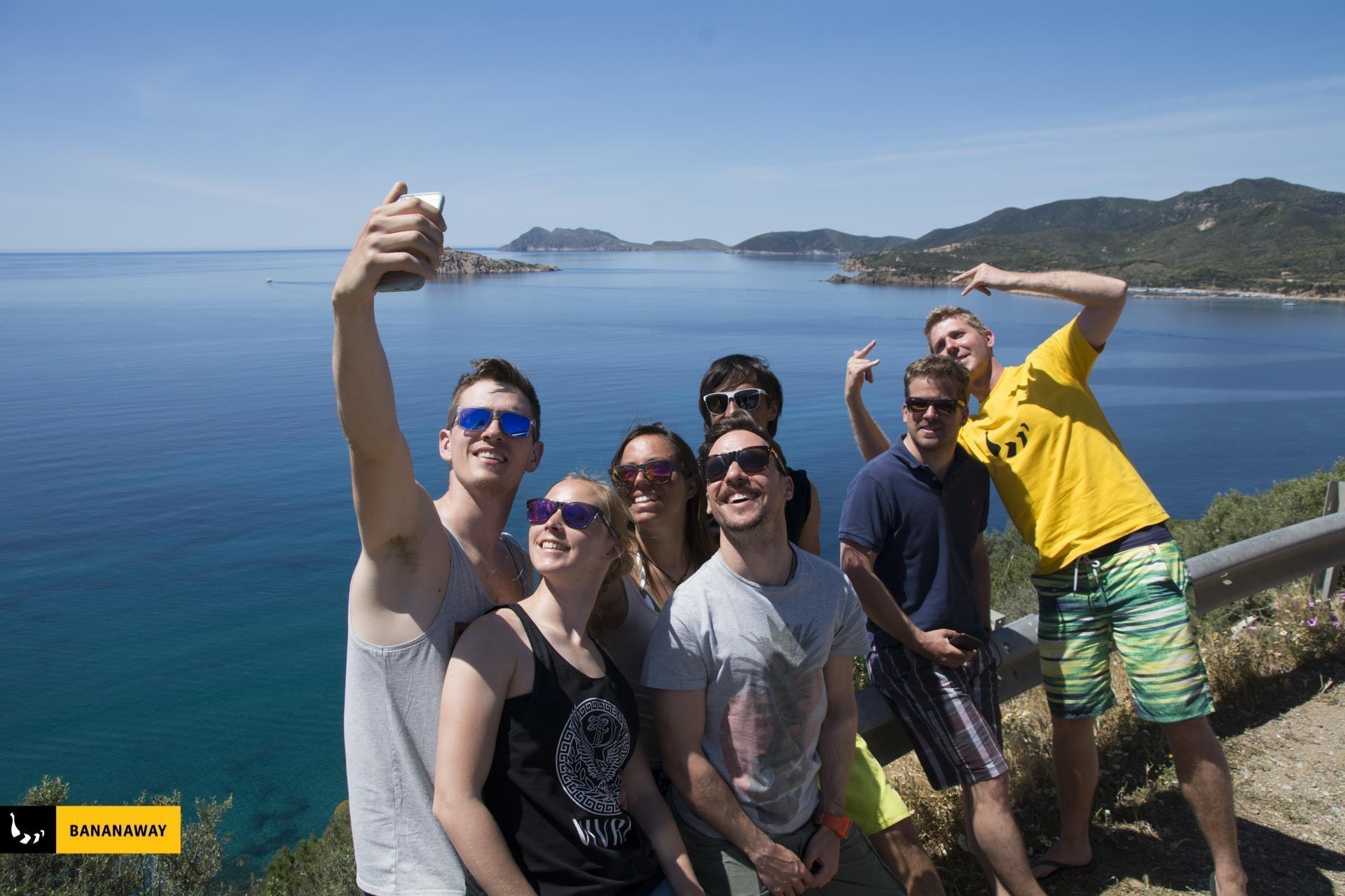 Bananaway ekipa kajta na Sardiniji