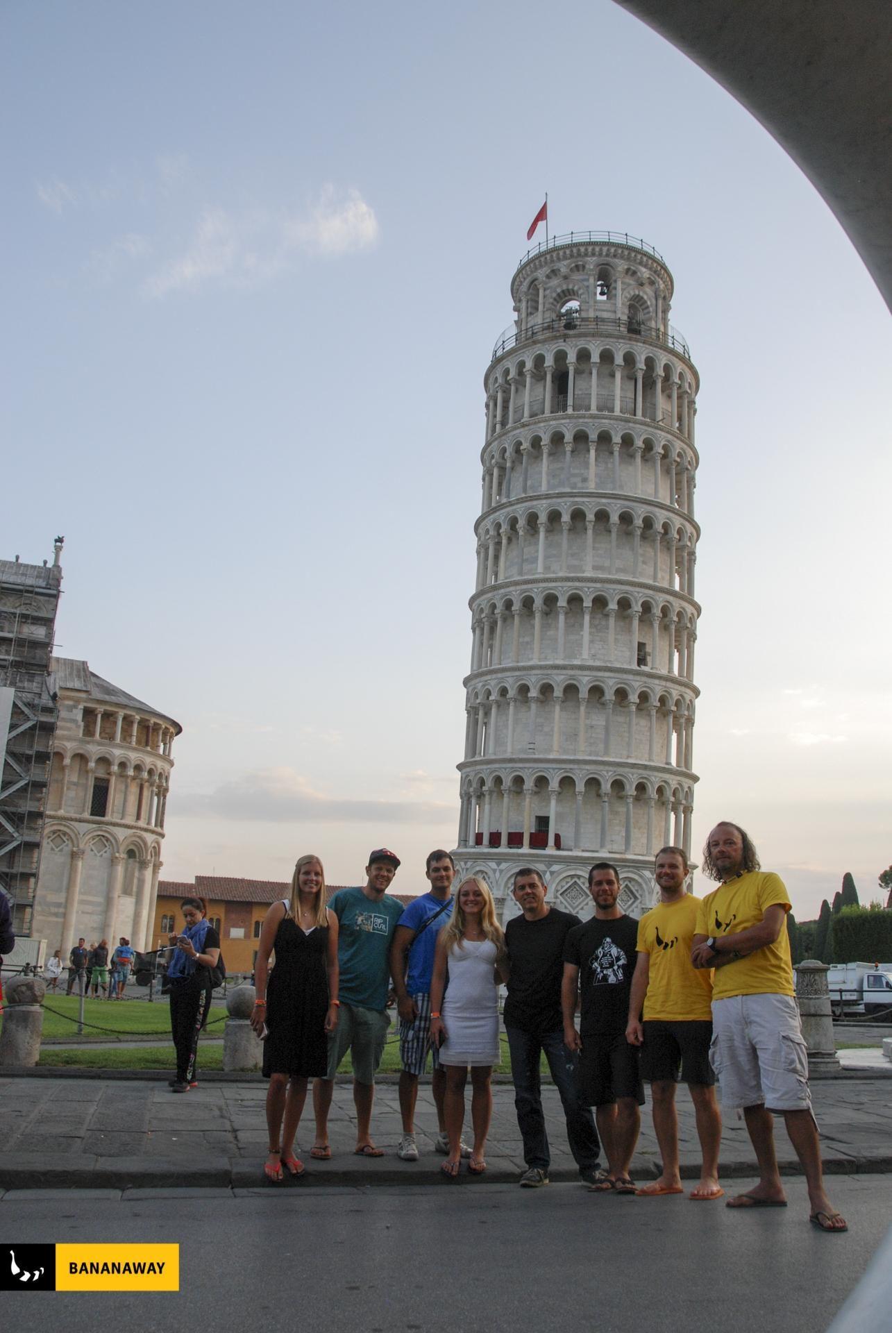 Izlet do Pise | kajt potovanje Sardinija