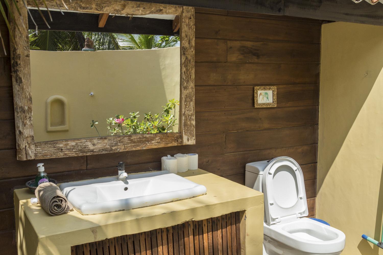 Garden bungalov - kopalnica pa kar na prostem!!