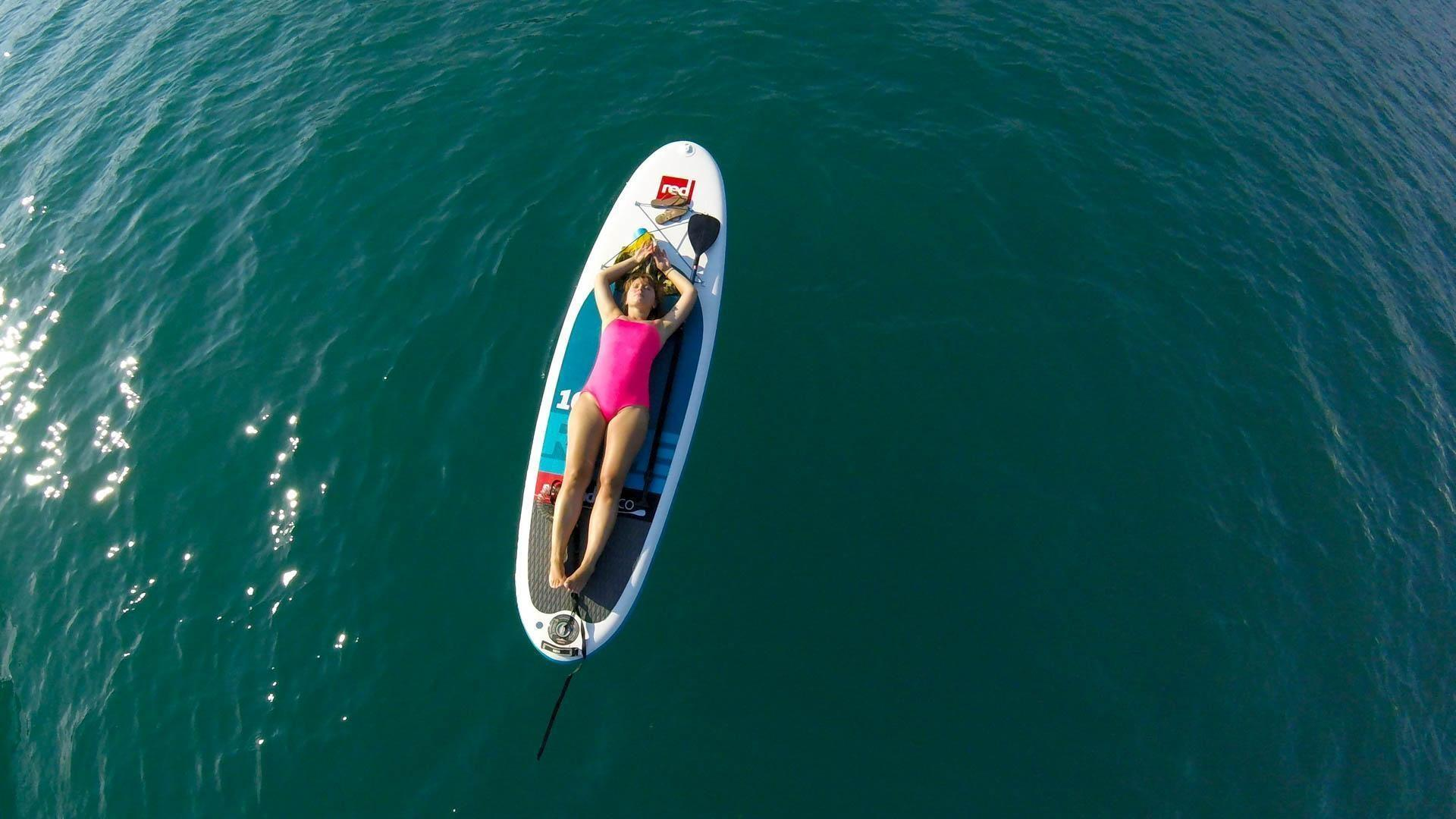 SUP relax Lake Bled Slovenia