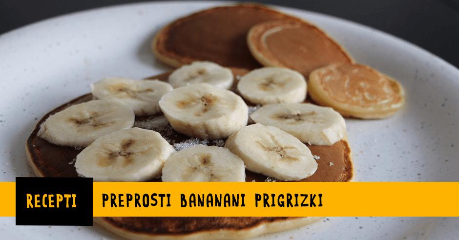 Zdravi bananini prigrizki