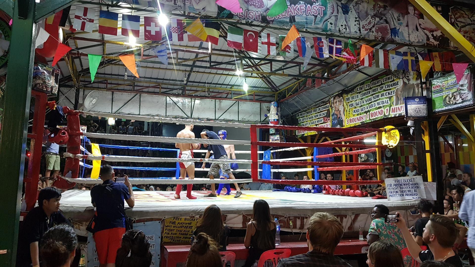 Tajski boks je del lokalne kulture