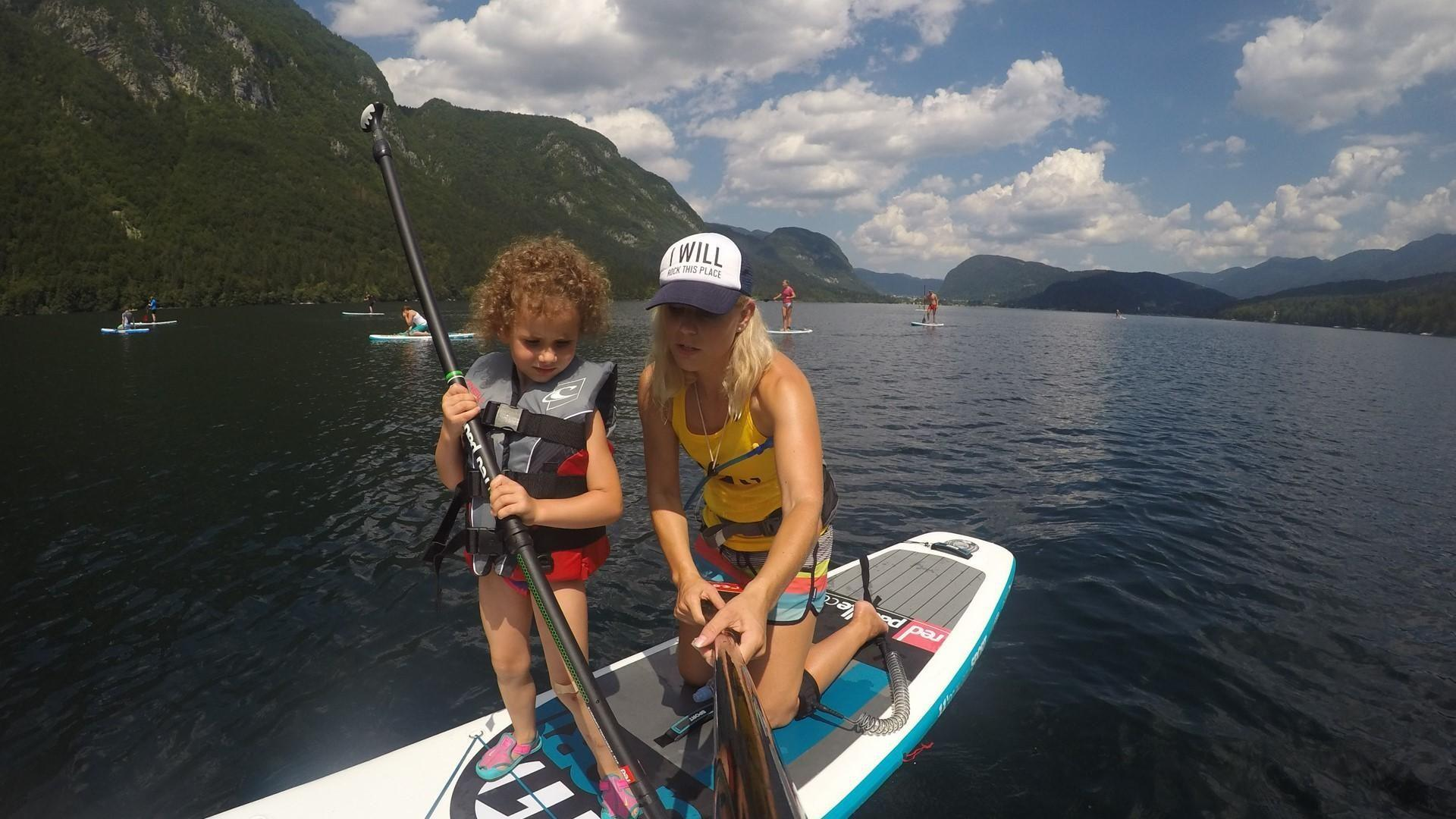 Best family summer activity on Bohinj lake