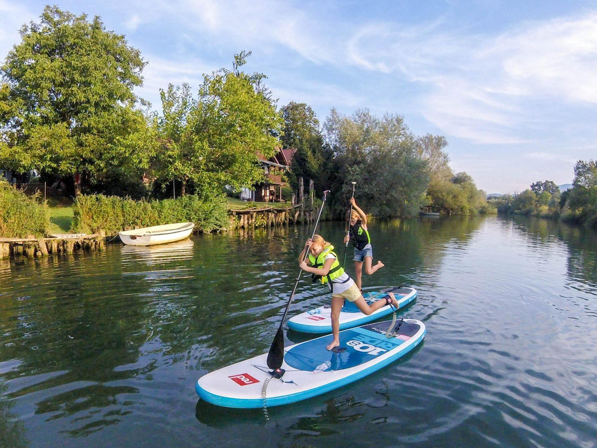 Nature lover sup tour