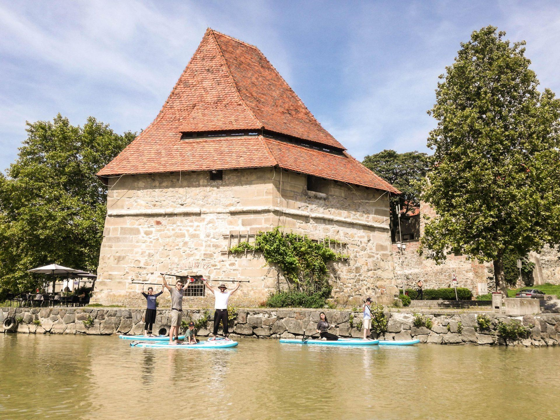 Paddle boarding tour Maribor, Slovenia