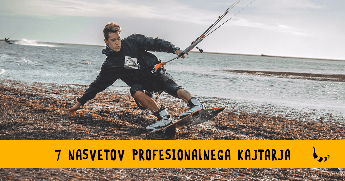 7 nasvetov profesionalnega kajtarja Jaka Komočarja