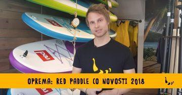 Novosti Red Paddle Co 2018