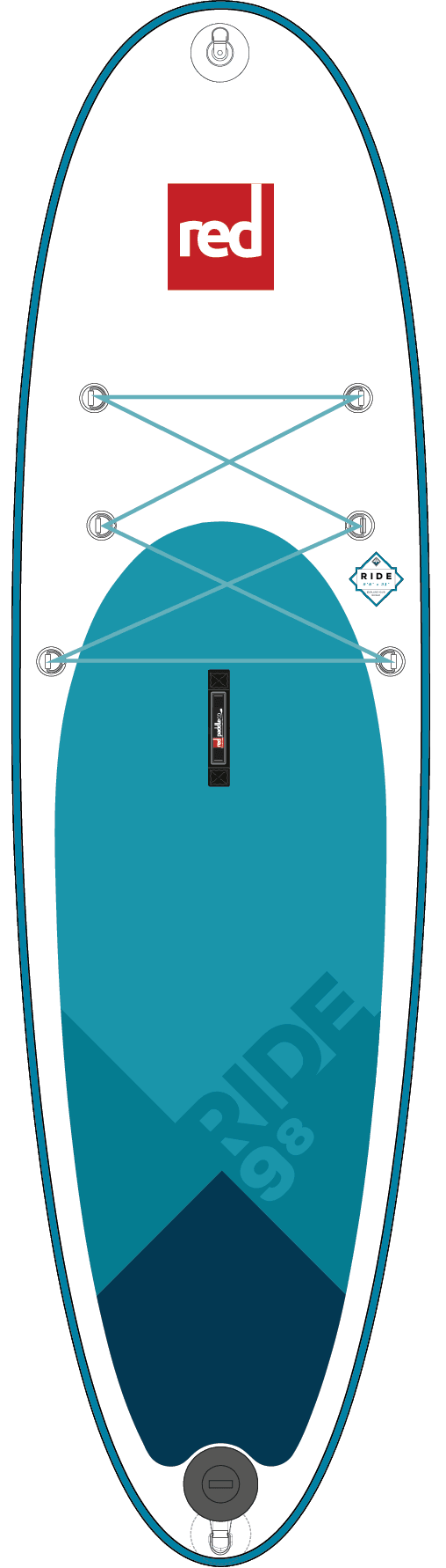 Red Paddle 2018 9'8 Ride