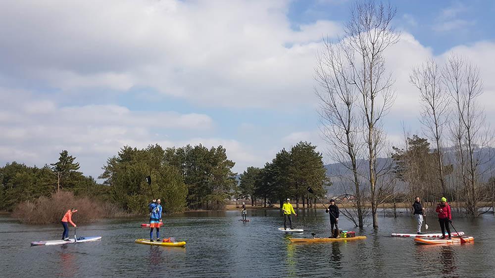 Cerknisko jezero ima v plovbnem režimu jasno zapisano, kje je dovoljeno območje plovbe.