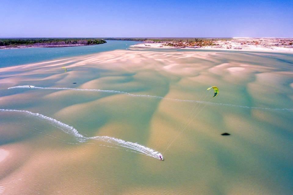 Kitesurf Macapa, Brasil