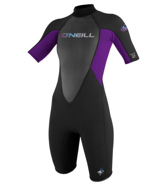 O'Neill Wms Reactor 2mm Black Violet Front