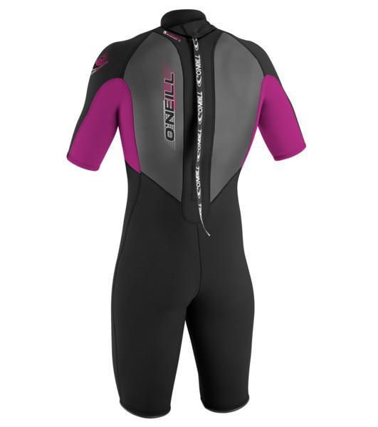 O'Neill Youth Reactor 2mm S/S Spring Black Pink