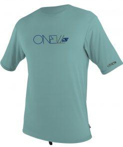 O'Neill Skins S/S Rash Tee Mineral front