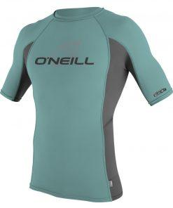 O'Neill Skins S/S Crew graph mineral front