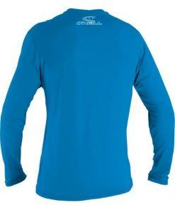 O'Neill Youth Basic Skins L/S Rash Tee Blue