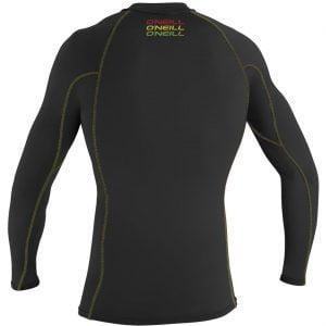 O'Neill Skins Graphic L/S Crew Black back
