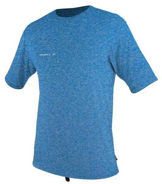 O'Neill Hybrid S/S Surf Tee Front Brite blue