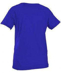 O'Neill Wms Graphic S/S Rash Tee Blue Back