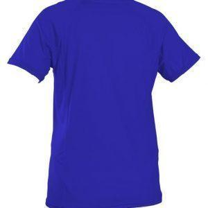 O'Neill Wms Graphic S/S Rash Tee Blue Back