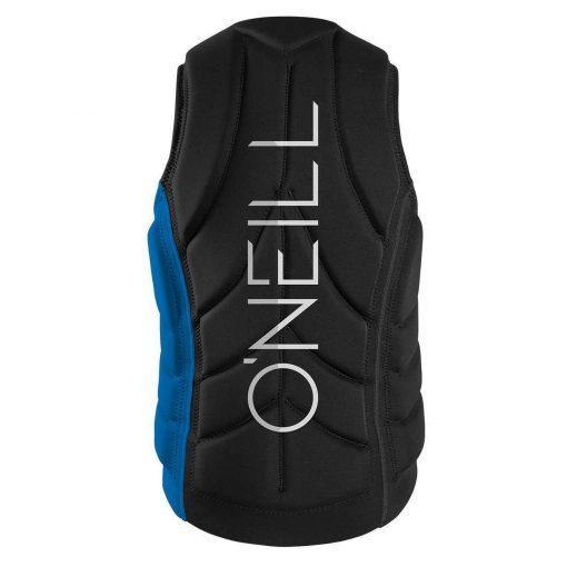 Slasher Comp Vest ER9 OCEAN/BLK
