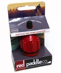 Red Paddle Co Inflation Adaptor in the case