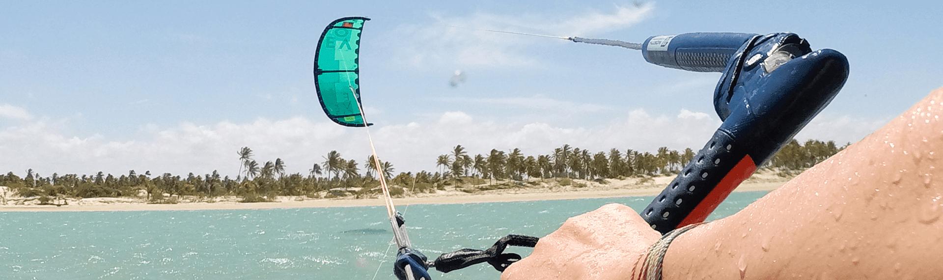 Kajtanje v Braziliji Ilha do Guajiru