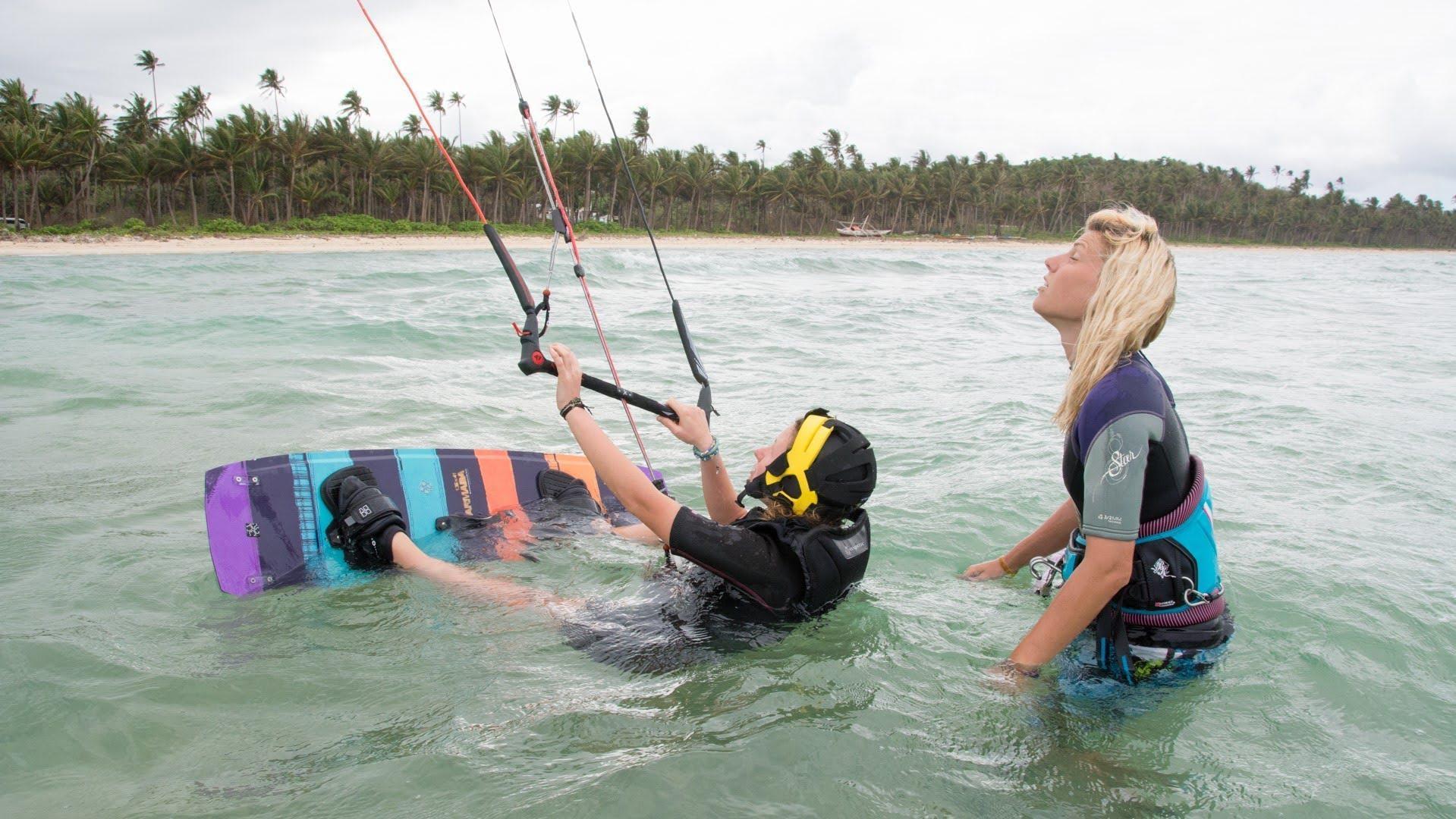 Obnovitveni tečaj kajtanja na Filipinih