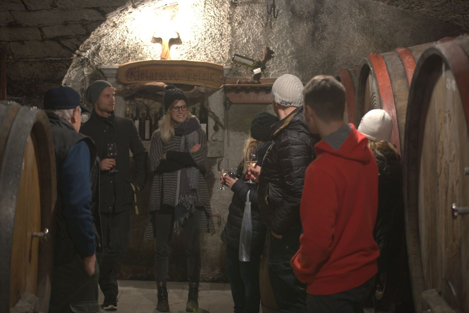 Obisk vinske kleti v Vipavski dolini