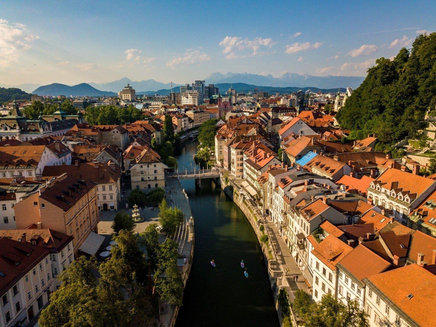 Urban sup tour Ljubljana