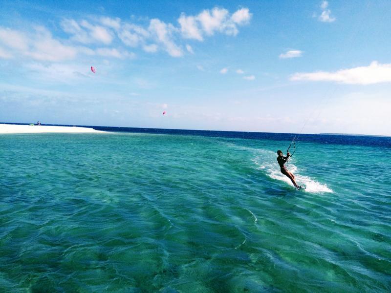 Kitesurfing spot Mindoro