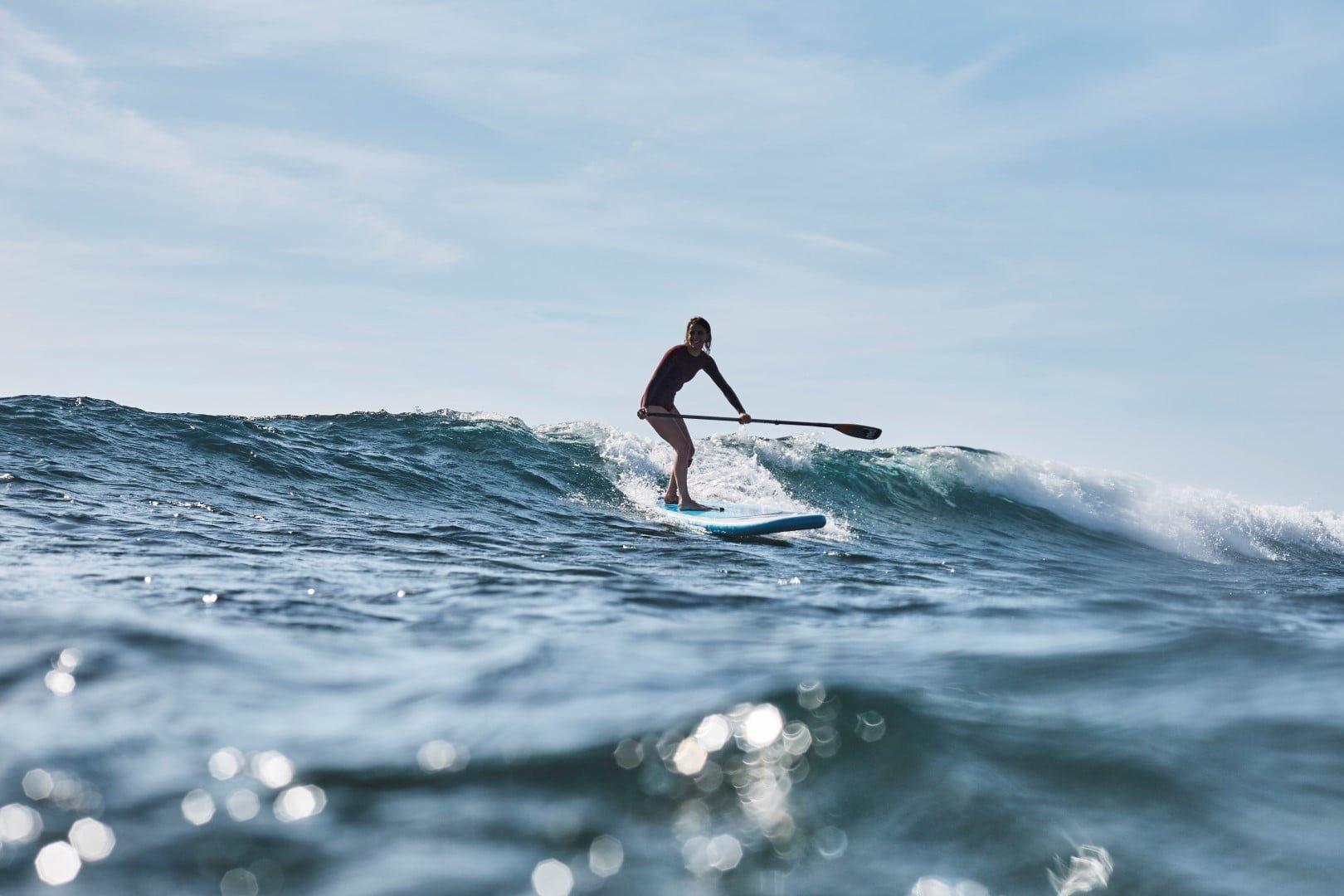 Supanje na valovih