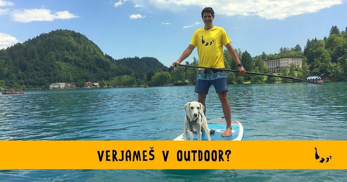 Verjameš v outdoor? Postani Bananaway influencer