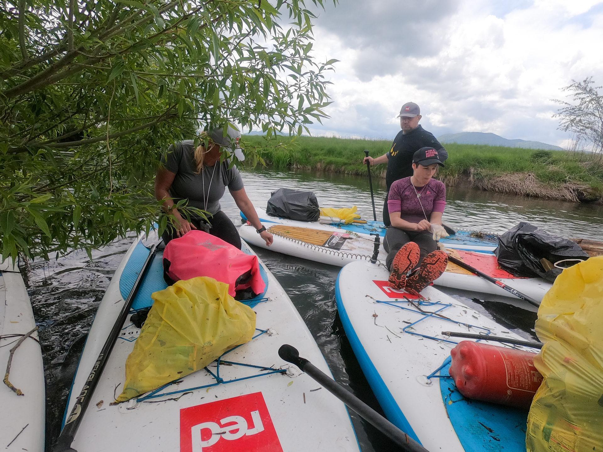 Očiščevalni spust po reki Iščici