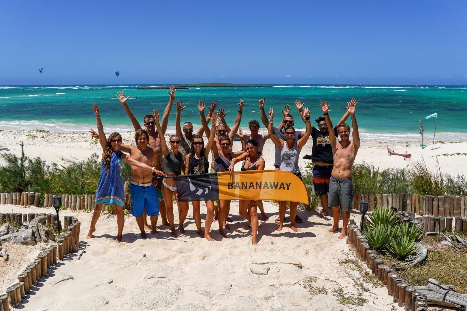 Kajtanje na Madagaskarju z Bananaway ekipo