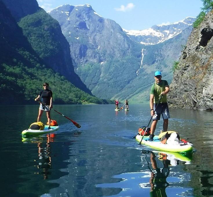 SUP potovanje na Norveško