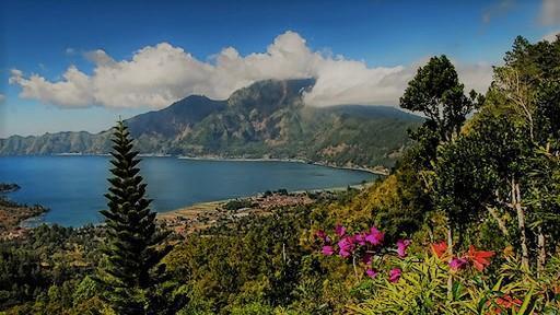 Supanje po jezeru Batur