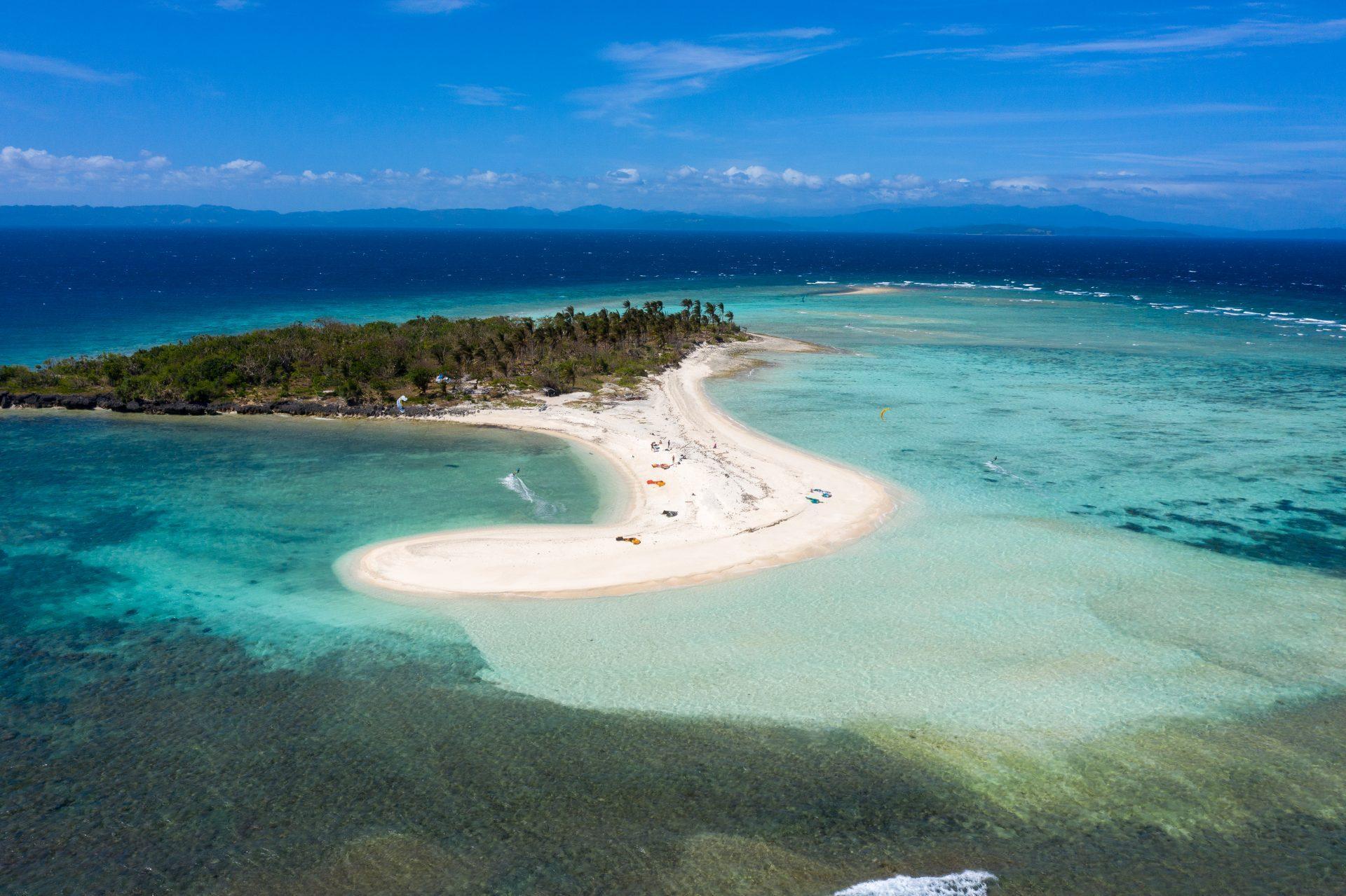 Kite safari filipini - island hopping