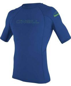O'Neill Youth Basic Skins S/S Rash Guard Pacific