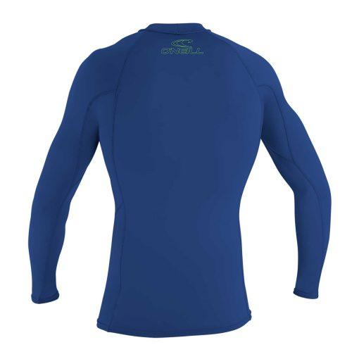 O'Neill Youth Basic Skins L/S Rash Guard Pacific