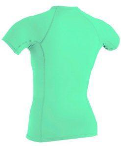 O'Neill Wms Basic Skins S/S Sun Shirt 216 LIGHT AQUA