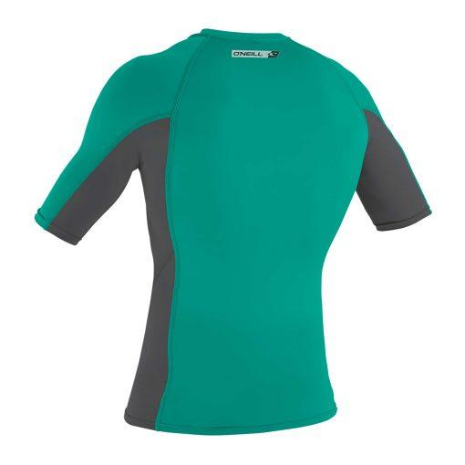 O'Neill Premium Skins S/S Rash Guard Balticgreen /Smoke